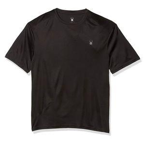 Spyder Black Crewneck Shirt, Size Small